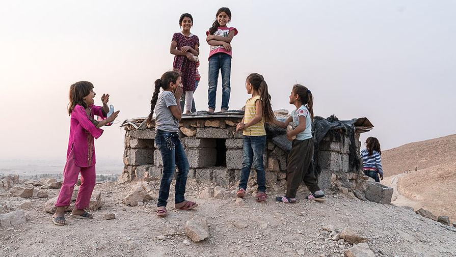 Лагерь в иракском Махмуре, октябрь 2016 года