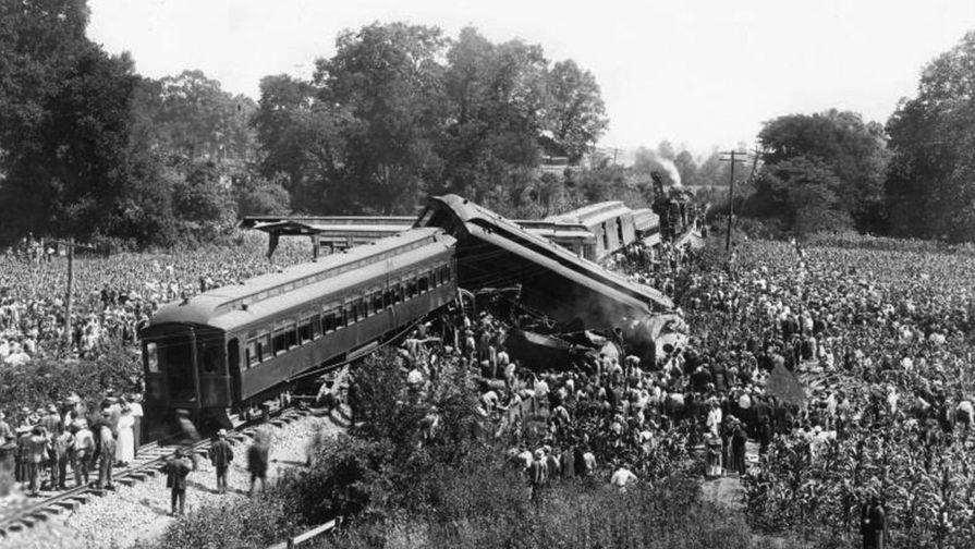 Крушение в Нэшвилле — крупнейшая железнодорожная катастрофа в США (1918 год)