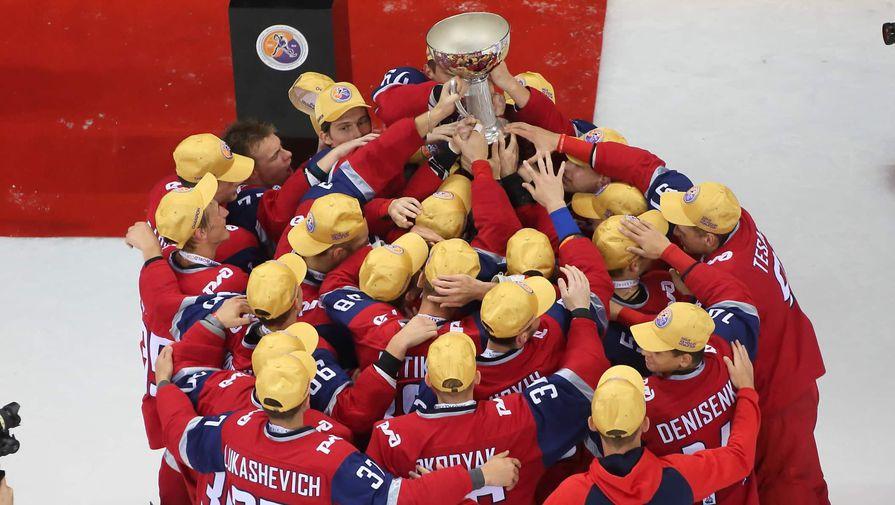 """""""Локо"""" стал обладателем Кубка мира по хоккею среди молодежных команд"""