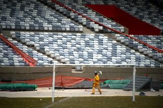 Болельщицкие кресла стадиона, в том числе и в Белу-Оризонте, приспособят для людей, страдающих ожирением