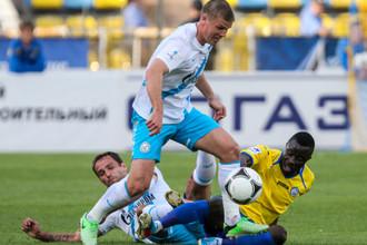 Широков и Денисов не смогли помочь «Зениту» выиграть