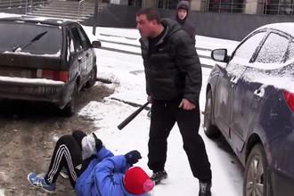 Драка активистов движения «СтопХам» с водителем в Рязани