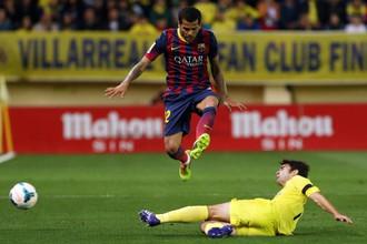 Бразильский защитник «Барселоны» Дани Алвес в выездном матче 35-го тура чемпионата Испании с «Вильярреалом» стал целью расистов