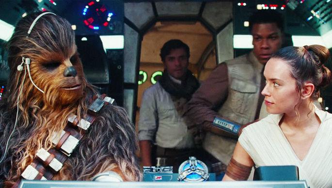 Кадр из трейлера фильма «Звездные Войны: Скайуокер. Восход» (2019)