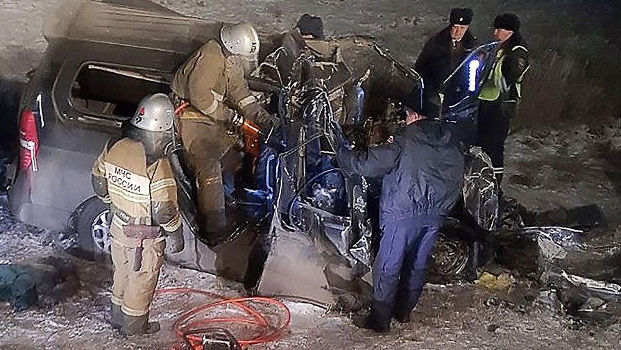 Смертельное ДТП под Оренбургом: Hyundai выехал на встречку