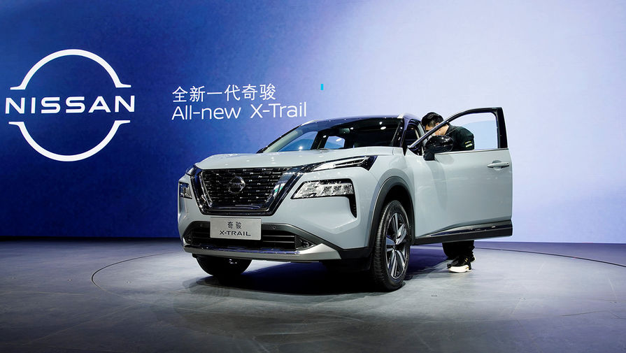 Новый Nissan X-Trail на Шанхайском автосалоне, апрель 2021 года