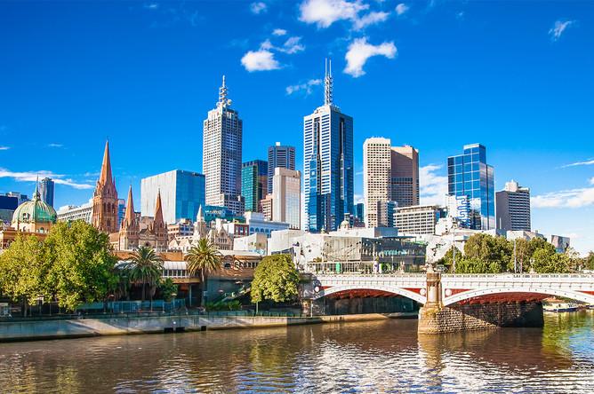 9-е место — Австралия. На фото: город Мельбурн