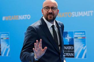 Премьер-министр Бельгии Шарль Мишель
