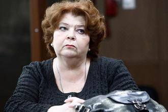Бывший главный бухгалтер «Седьмой студии» Нина Масляева во время рассмотрения дела по существу в Мещанском суде Москвы, 11 апреля 2019 года