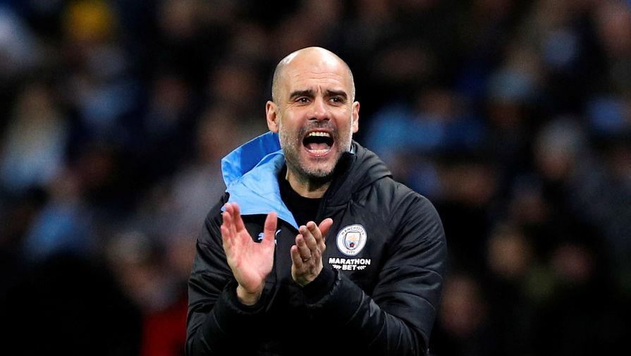 Хосеп Гвардиола у руля «Манчестер Сити»
