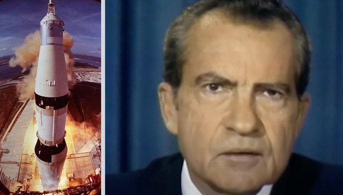 «Останутся на Луне навеки»: как Никсон «объявил» о гибели «Аполлона»