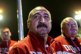 Тренер сборной России по боксу Александр Лебзяк