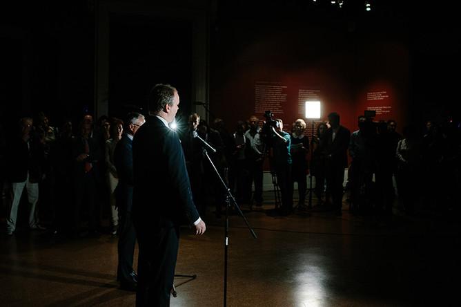Открытие выставки «Рафаэль. Поэзия образа» в зале Пушкинского музея
