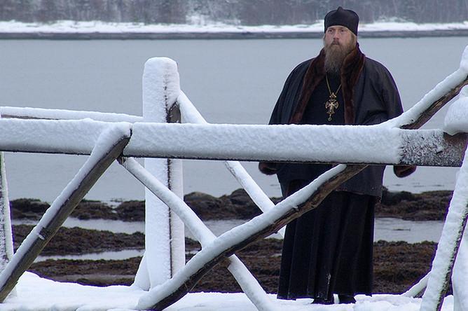 В роли отца Филарета в фильме «Остров» Павла Лунгина, 2005 год