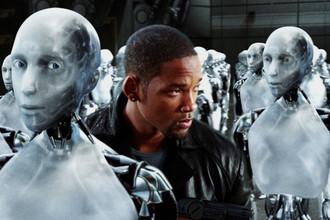 Кадр из фильма «Я, робот» (2004)