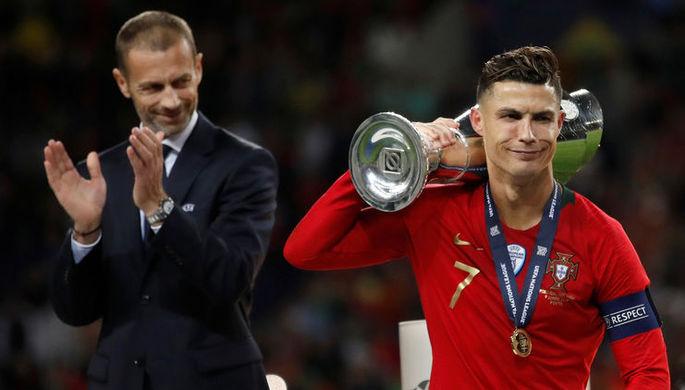 Капитан сборной Португалии Криштиану Роналду