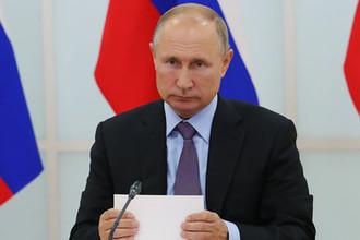 Чистка в МВД: Путин освободил от должности десятки силовиков