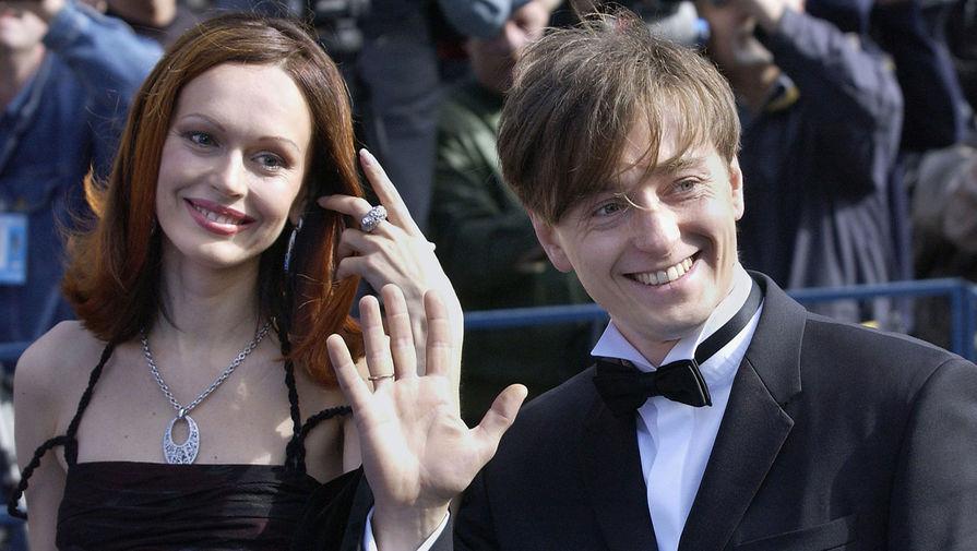 Ирина и Сергей Безруковы на церемонии открытия Московского Международного кинофестиваля, 2004 год