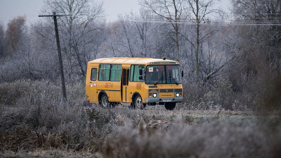 В Тюменской области пьяный водитель школьного автобуса перевозил детей