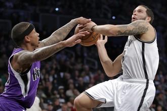 «Бруклин» взял верх над «Сакраменто» в чемпионате НБА