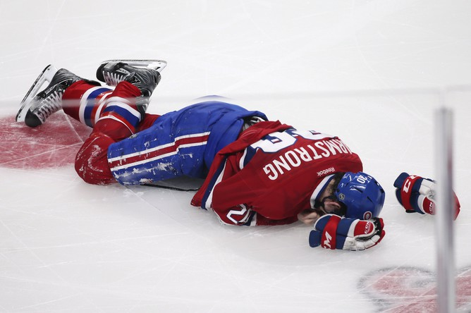 Игрок «Монреаля» Колби Армстронг получил повреждение
