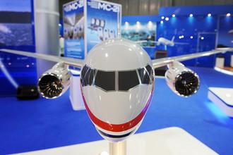 В 2019 году должен быть введен в коммерческую эксплуатацию российский перспективный самолет МС-21