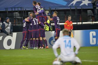 Венская «Аустрия» в 6-м туре Лиги чемпионов разгромила на своем поле «Зенит»