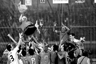 Умер бывший тренер сборной Испании Луис Арагонес