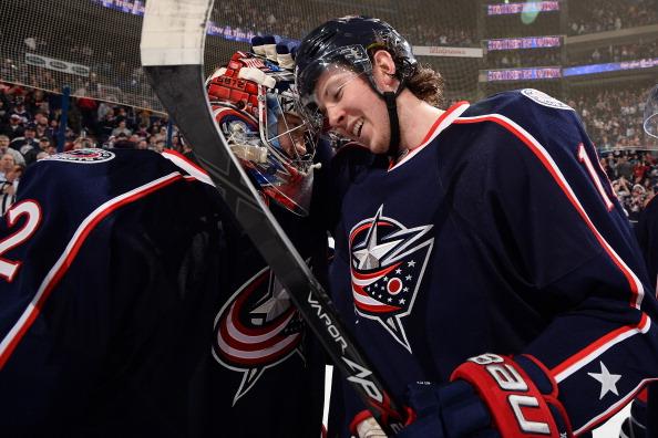 Вратарь «Коламбуса» Сергей Бобровский в матче чемпионата НХЛ с «Айлендерс» совершил очередной шатаут