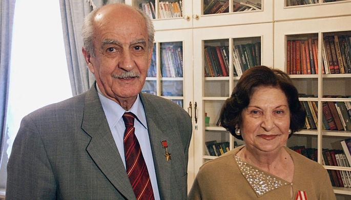Ветераны советской разведки, Герой Советского Союза Геворк Вартанян и его жена Гоар