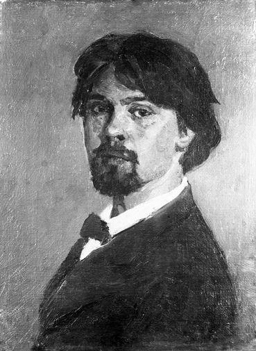 Василий Иванович Суриков (1848–1916). Автопортрет, 1879 год