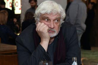 Дмитрий Брусникин на юбилее «Гоголь-центра» в Москве, февраль 2018 года