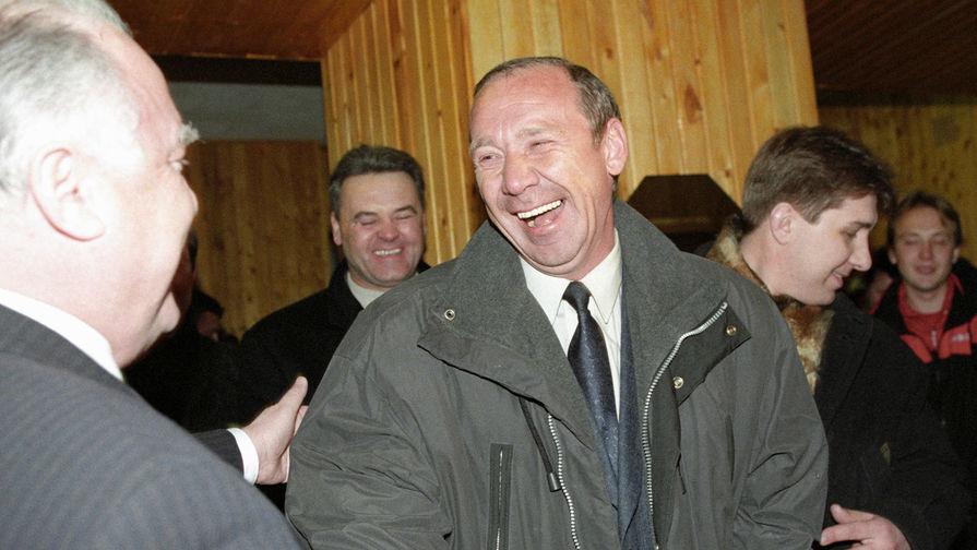 Главный тренер команды «Спартак» Олег Романцев, 1998 год