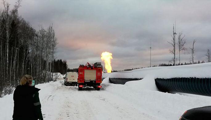 Все перекрыто: в Ленобласти взорвался газопровод