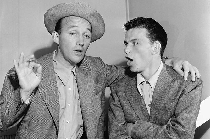 Бинг Кросби и Фрэнк Синатра, 1943 год