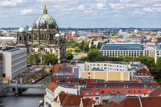 Вид на центр Берлина