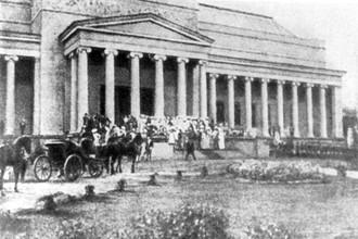 Открытие музея изящных искусств в Москве (ныне Государственного музея изобразительных искусств имени А.С.Пушкина), 1912 год