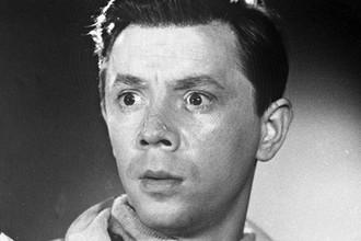 Кадр из фильма «Путешествие в молодость». Киевская киностудия имени А. Довженко, 1957 год