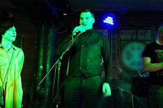 Премьер-министр Украины Алексей Гончарук на концерте неонацистской рок-группы «Сокира Перуна»