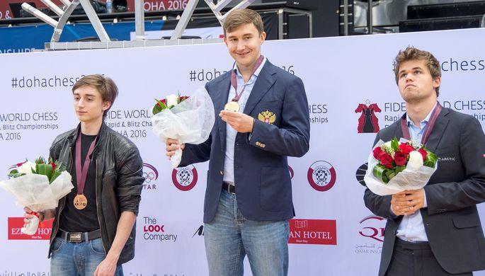 Сергей Карякин победил на чемпионате мира по шахматам в блице