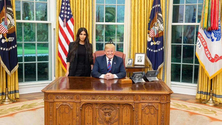 Ким Кардашьян выступила в Белом доме