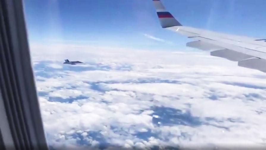 «Акт гостеприимства»: ВВС Швейцарии сопроводили делегацию Путина