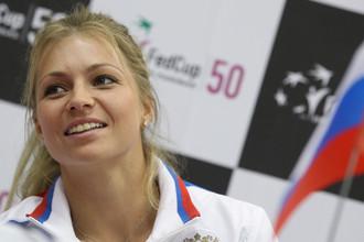 В первом матче 1/4 финала Кубка Федерации Мария Кириленко сыграет с Кимико Датэ-Крумм