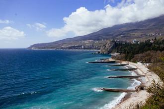 Пляжи «Артека» в длину 7,5 км