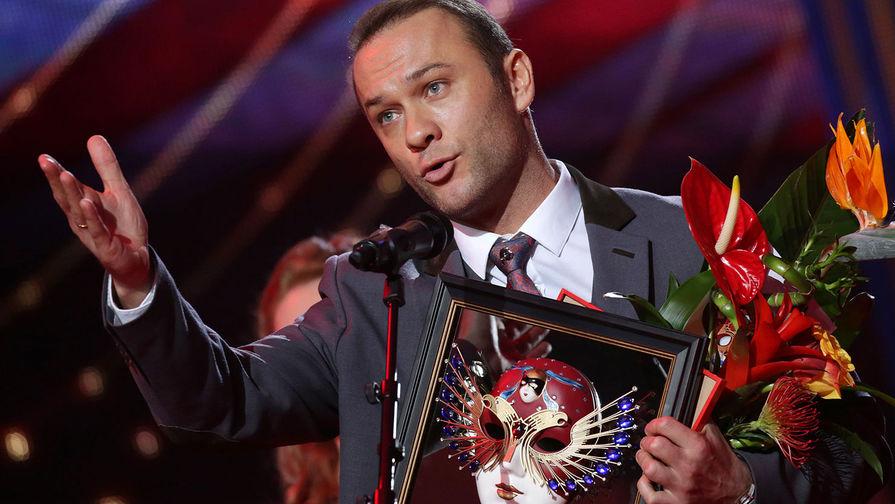 Актер Дмитрий Ермак, ставший лауреатом Национальной театральной премии «Золотая маска» вноминации «Лучшая мужская роль воперетте/мюзикле»