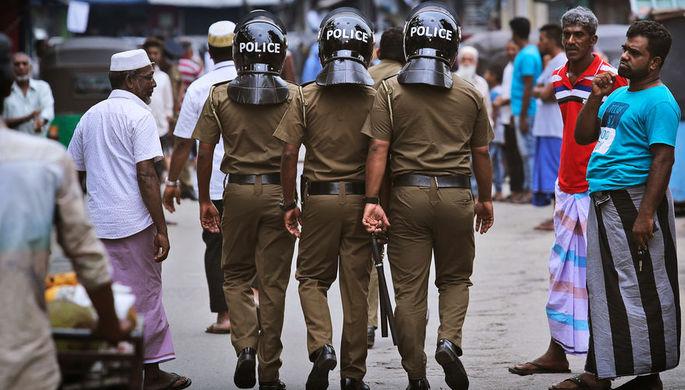 Задержаны двое главных подозреваемых во взрывах на Шри-Ланке