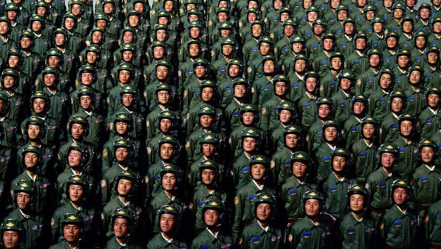 Военный парад в честь 75-летия основания Трудовой партии Кореи (ТПК), Пхеньян, 10 октября 2020 года