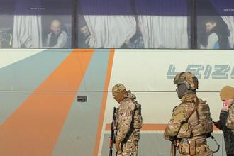 Во время обмена пленных между ДНР, ЛНР и Киевом, 27 декабря 2017 года
