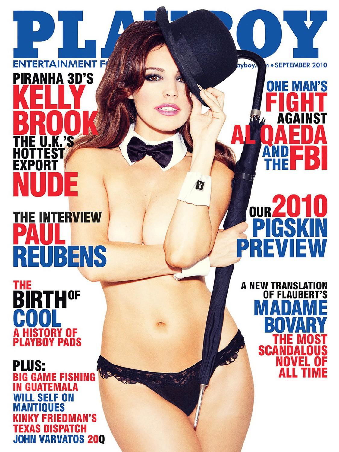 Келли Брук на обложке Playboy, 2010 год