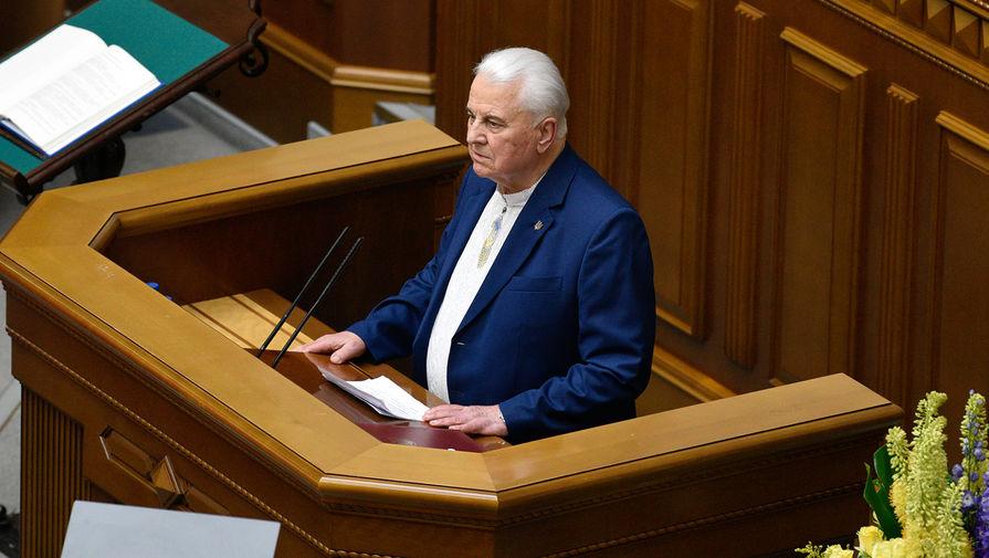 За мир и без особого статуса: Кравчук сформулировал позицию по Донбассу